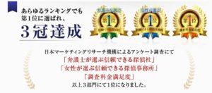 リッツ横浜探偵社は3冠達成