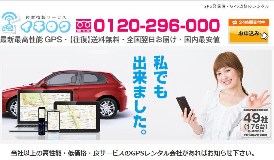 イチロクPro-GPS・Pro-NEXT・お手軽GPS